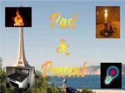 English powerpoint: Past and Present