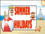 English powerpoint: Summer Holidays (Flashcards or Presentation) - 1st Set