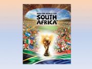 English powerpoint: World Cup 2010
