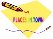 English powerpoint: Places in town