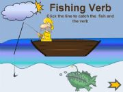 English powerpoint: Fishing verbs