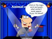English powerpoint: Animal magic show