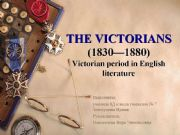 English powerpoint: The Victorians