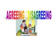 English powerpoint: Agreeing and Disagreeing