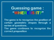 English powerpoint: Where is it?