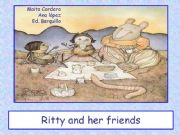 English powerpoint: Ritty and her friends