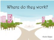 English powerpoint: Work places