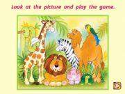 English powerpoint: animals memory game