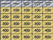 English powerpoint: Jeopardy Pre Intermediate