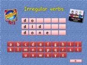 English powerpoint: Wheel of Fortune: Irregular verbs