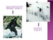 English powerpoint: bigfoot and the yeti