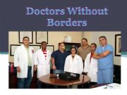 English powerpoint: Doctors without Borders
