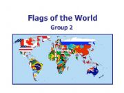 English powerpoint: World Flags 2