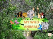 English powerpoint: MY WILD ANIMALS – Part 1 – FULLY EDITABLE, INTERACTIVE WITH SOUNDS AND ANIMATED ANIMALS