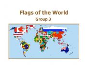 English powerpoint: World Flags 3