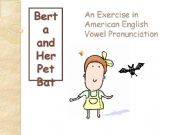 English powerpoint: Berta and Her Pet Bat, Part 1
