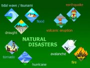 English powerpoint: Natural disasters
