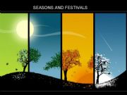 English powerpoint: Seasons and Festivals