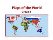 English powerpoint: World Flags 4