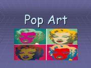 English powerpoint: Pop Art powerpoint