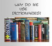 English powerpoint: USING DICTIONARIES