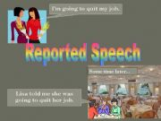 English powerpoint: Reported Speech