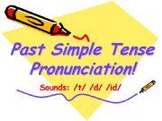 English powerpoint: -ED PRONUNCIATION