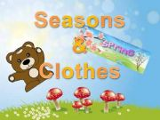 English powerpoint: SEASONS AND CLOTHES (I)