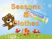 English powerpoint: SEASONS AND CLOTHES (II)