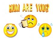English powerpoint: HOW ARE YOU?