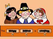 English powerpoint: Thanksgiving Sentence Generator
