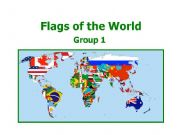 English powerpoint: World Flags 1