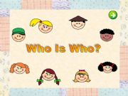 English powerpoint: Who is who?