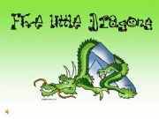 English powerpoint: Five Little Dragons nursery rhyme song