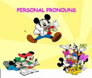 English powerpoint: PERSONAL PRONOUNS