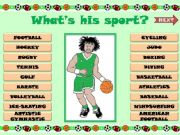 English powerpoint: SPORTS GAME (part 2)