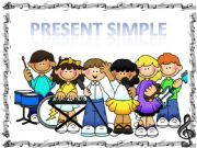 English powerpoint: SIMPLE PRESENT GAME (animated)
