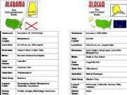English powerpoint: States of the United States Part 1