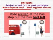 English powerpoint: Past Perfect