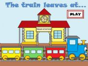 English powerpoint: THE TRAIN LEAVES AT... -Part 1-