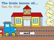 English powerpoint: THE TRAIN LEAVES AT...- Part 2 -