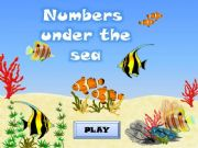 English powerpoint: NUMBERS (1-100) UNDER THE SEA