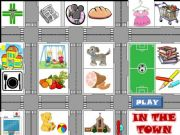 English powerpoint: IN THE TOWN  - Part 1 -