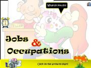English powerpoint: JOBS & OCCUPATIONS