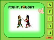 English powerpoint: Irregular verbs game 4/11
