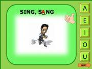 English powerpoint: Irregular verbs game 9/11