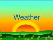 English powerpoint: weather