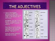 English powerpoint: What is an adjective?