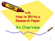Powerpoints on research papers