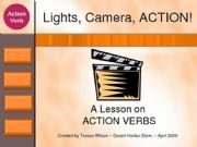English powerpoint: Action Verbs (present Simple/Present Continuous